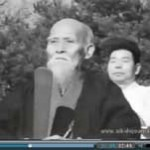Video of Morihei Ueshiba and Morihiro Saito in Iwama, 1964