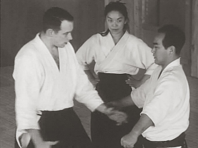 Koichi Tohei teaching at the Aikikai Hombu Dojo in 1962