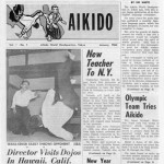 PDF download: January 1964 issue of Aikido Headquarters Newspaper