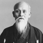 Morihei in Tanabe by Stanley Pranin